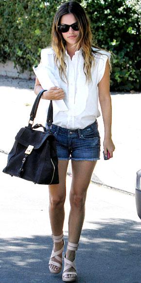rachel bilson casual looks. Rachel Bilson#39;s CopyKat Look