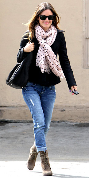 Rachel Bilson | September 26, 2010  - Look of the Day | Photo Gallery - Fashion - InStyle from instyle.com