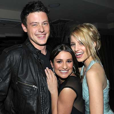 Parties - Cory Monteith, Lea Michele and Dianna Agron - InStyle celebrates