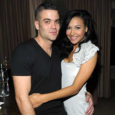 Golden Globes Naya Rivera. Parties - Mark Sallig and Naya