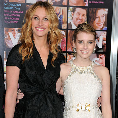 julia roberts and emma roberts. Julia Roberts and Emma