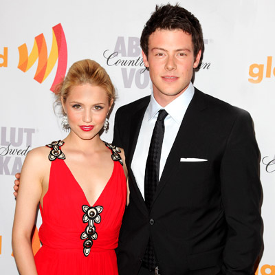 dianna agron and cory monteith photo shoot