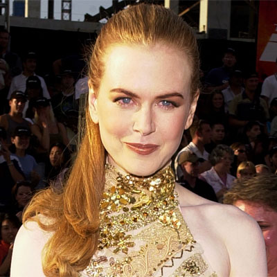 Nicole Kidman - Transformation - hair and makeup