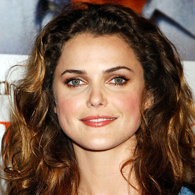 Keri Russell, Transformation, curly hair