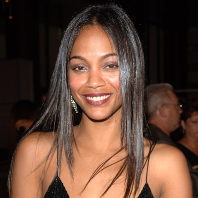 Transformation - Zoe Saldana - Beauty
