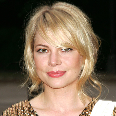 Michelle Williams, transformation, star beauty, star hair