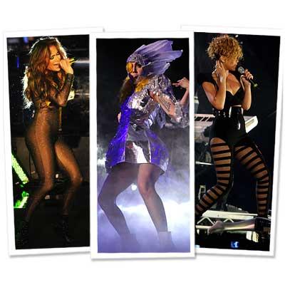 Rihanna - Lady Gaga - Jennifer Lopez