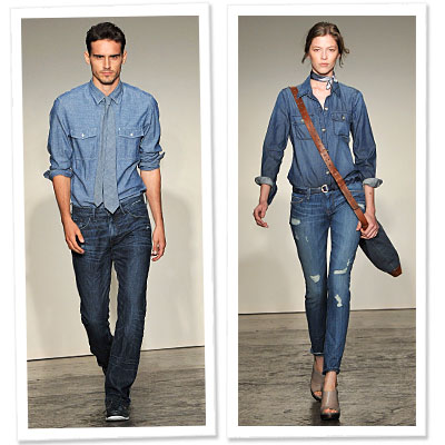 banana republic - new blues - denim