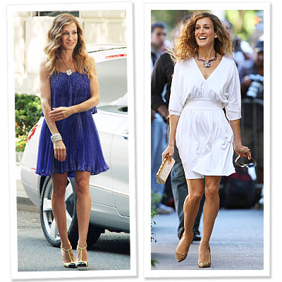 Get Carrie's SATC2 Dresses