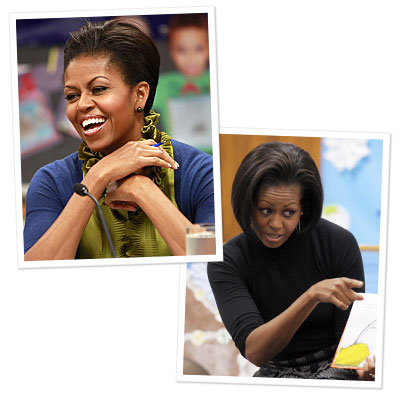 Michelle Obama&#039;s New Hairdo!