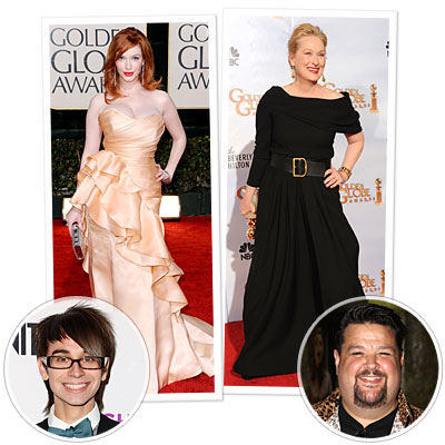 meryl streep - christina hendricks - project runway