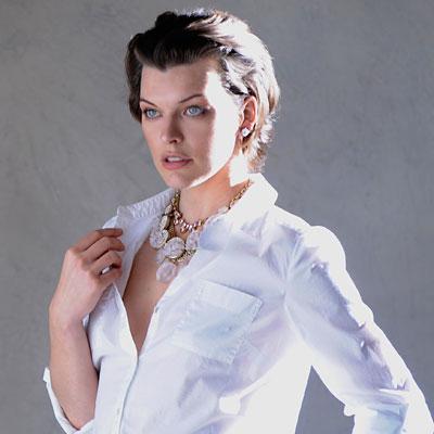 milla jovovich  - ann taylor - heidi klum
