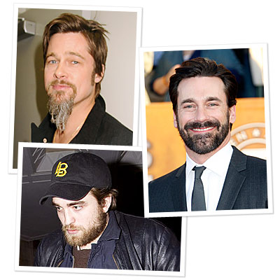 Beards Are Back For Hollywood's Finest!<br />