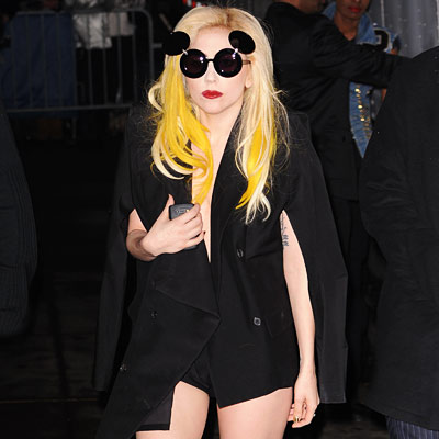 Lady Gaga's Fashionable After-Party Date