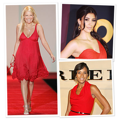 Red Dress Fashion Show Models Revealed!