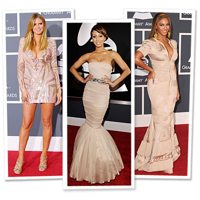 Grammy's Red Carpet Trend: Nude Dresses : InStyle.com What's Right Now