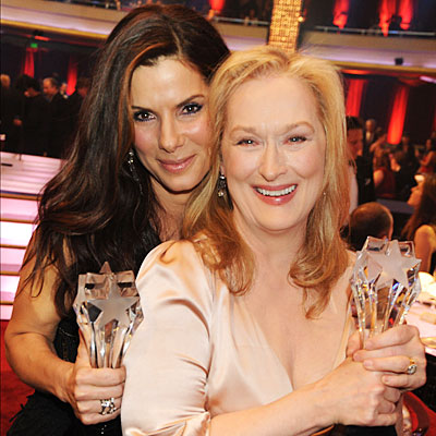 Sandra and Meryl Vie For Oscar