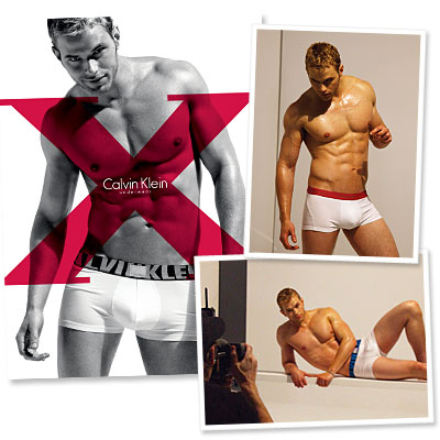 Exclusive: Behind-the-Scenes of Kellan Lutz's Calvin Klein Shoot