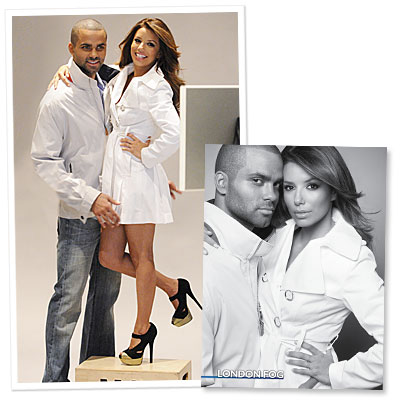 Eva and Tony Star in Ad Campaign