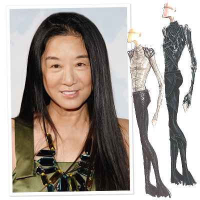 Olympic Ice Skater Taps Vera Wang for Costumes