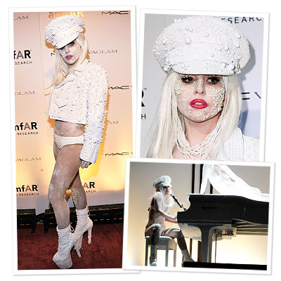 Lady Gaga Kicks Off New York Fashion Week