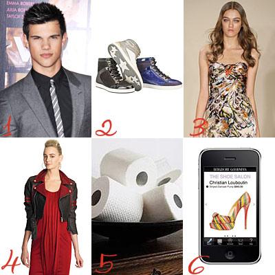 Happy Birthday Taylor Lautner, Plus Jimmy Choo's Sneakers