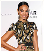 Zoe Saldana Dishes On Her Fashion Week Plans