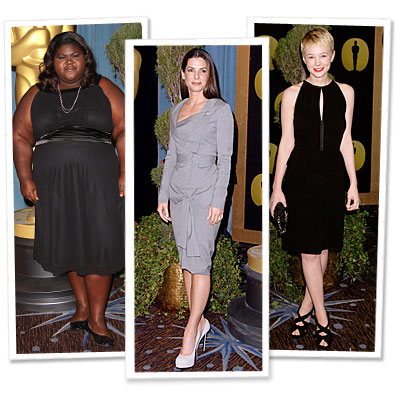 gabourey sidibe  - carey mulligan - sandra bullock