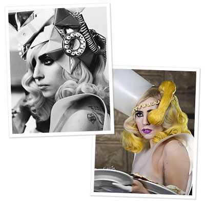 Lady Gaga's Latest Headpieces<br />