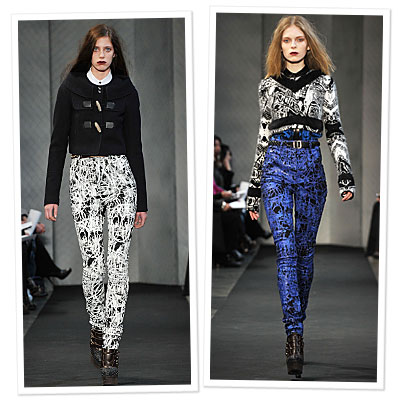 Proenza Schouler for J Brand Debuts on the Runway