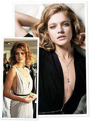 Natalia Vodianova's Charity Necklace</p> <p>