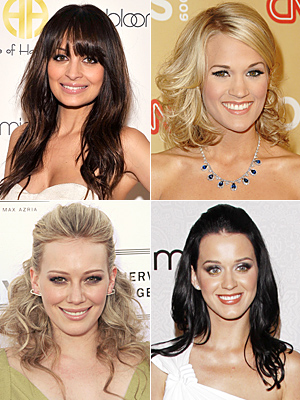 Carrie Underwood  and Hilary Duff  and Katy Perry  and Nicole Richie