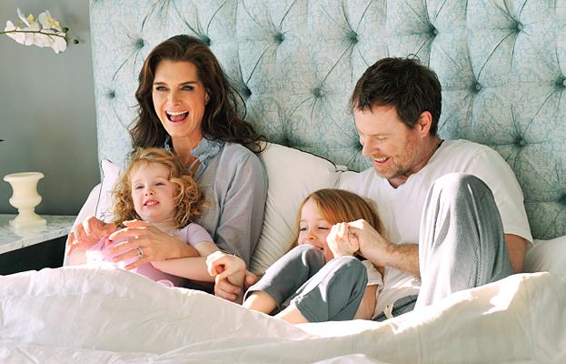 Brooke Shields Family