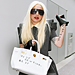Lady Gaga's Graffitied Hermes Bag!