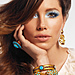 Jessica Biel Poses for New Beauty Site