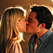 Ed Westwick &amp; Clemence Poesy Lock Lips on Gossip Girl