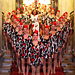 Diane Von Furstenberg Dresses Radio City Rockettes for Life Ball