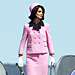 Double Take: Katie Holmes as Jackie Kennedy