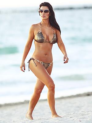 Kim Kardashian Bikini Miami