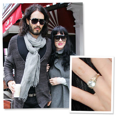 katy perry - russell brand - cartier