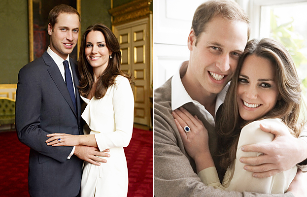 Kate Middleton and Prince William Engagement Portraits