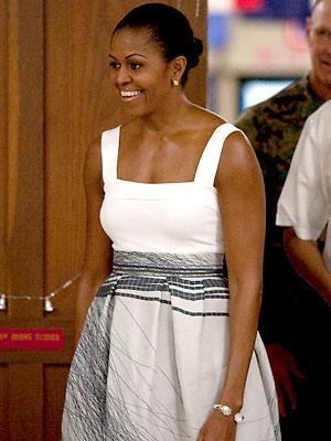 Michelle Obama's Latest Designer Favorite: Jolibe : InStyle.com What