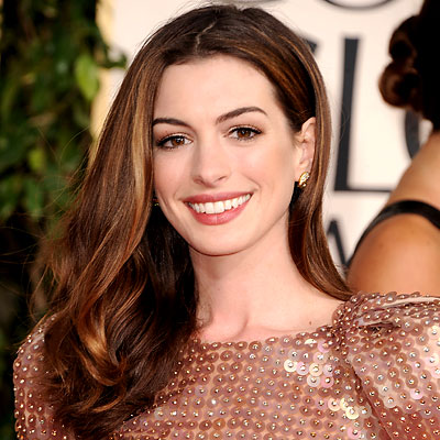anne hathaway hair color new prom cellebrity hairs