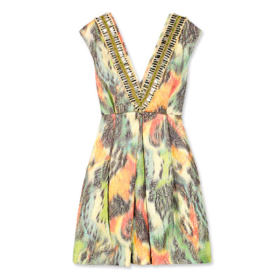 Matthew Williamson Jacquard Dress