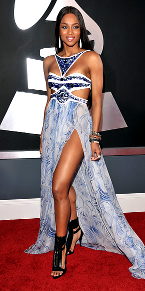 Ciara - Red Carpet Arrivals - Grammy Awards 2011