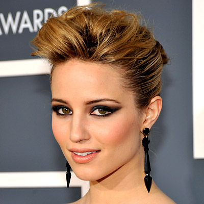 Dianna Agron - Best Hair and Makeup - Grammy Awards 2011