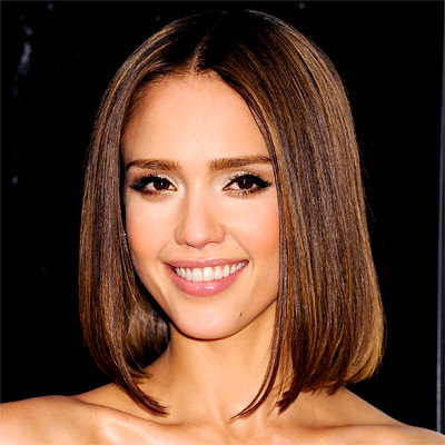 Jessica Alba Hair Cut
