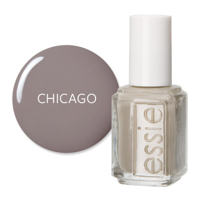 Chicago - America's Most Wanted Nail Colors - Essie Chinchilly