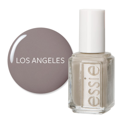 Los Angeles - America's Most Wanted Nail Colors - Essie Chinchilly