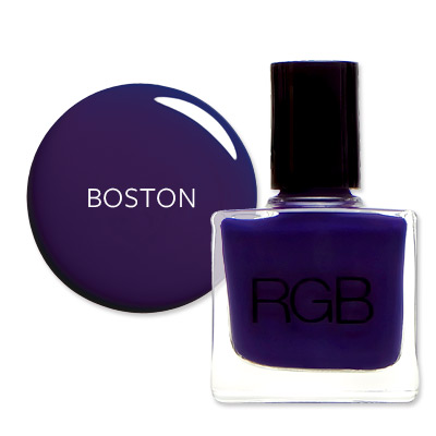 Boston - America's Most Wanted Nail Colors - RGB Plum